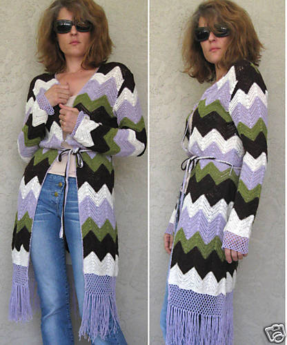 Crochet Cardigan On Ebay Fabricadabras Blog