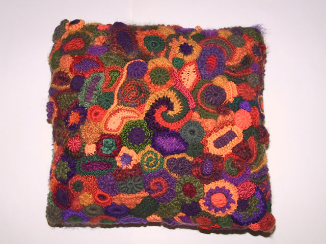 ... crocheted pillow from prokopowicz org fabricadabra s hand crocheted