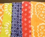 Royal Hut's batik napkins