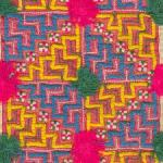 Hmong tribe hand embroidery example