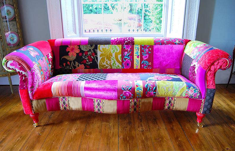 Patchwork Frenzy In Home Furnishings Fabricadabra S Blog