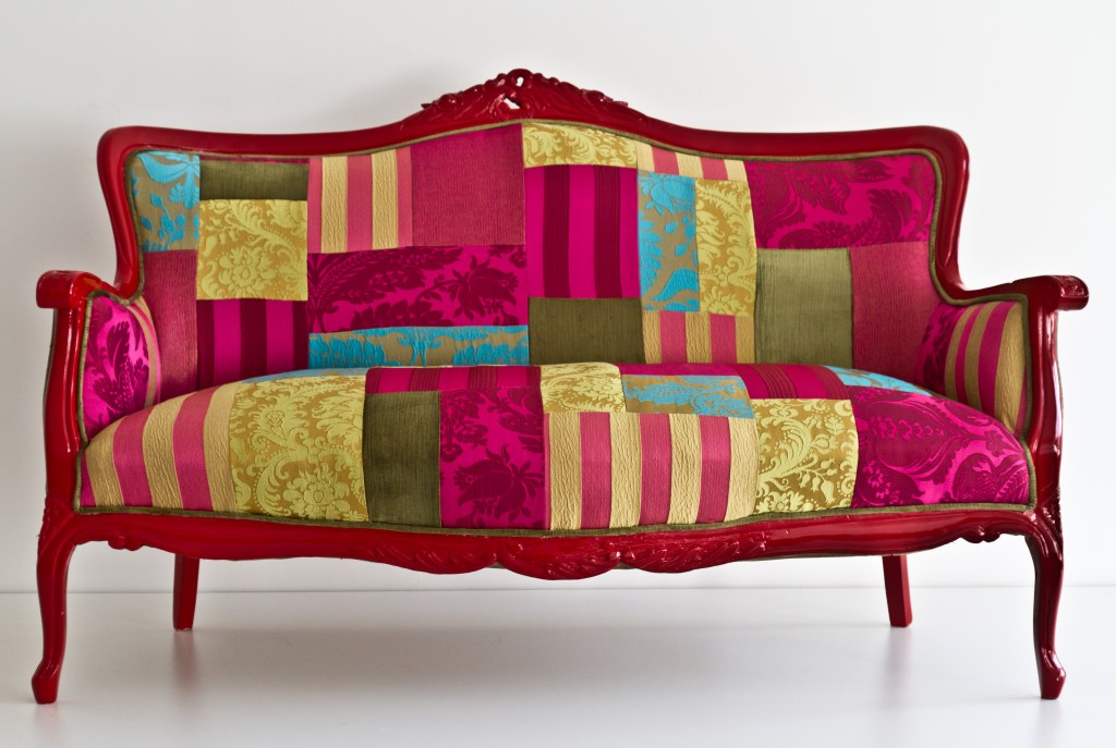 patchwork frenzy in home furnishings fabricadabra 39 s blog. Black Bedroom Furniture Sets. Home Design Ideas