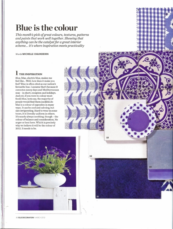 Elle Decoration march 2012