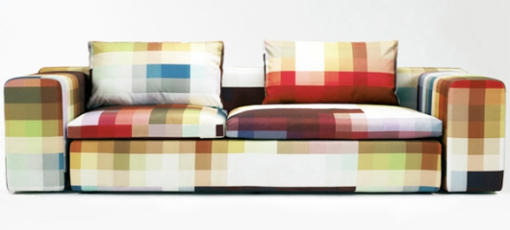 Pixel couch made by Kvadrat and sold through Moroso