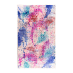 NuLooms wool overdyed splatter rug on Fab