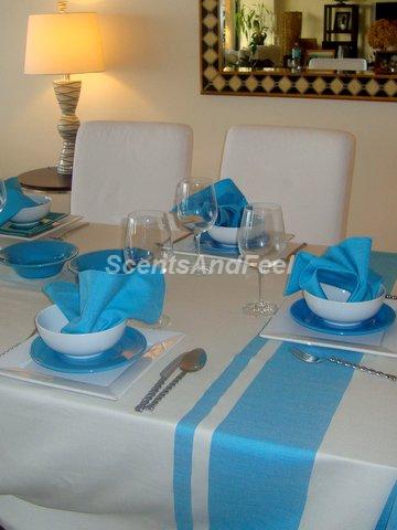 hammam towel as tablecloth