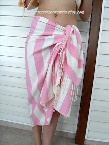 peshtemal as sarong