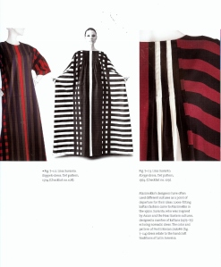 These caftans were created by Marimekko designer Liisa Suvanto in 1974.