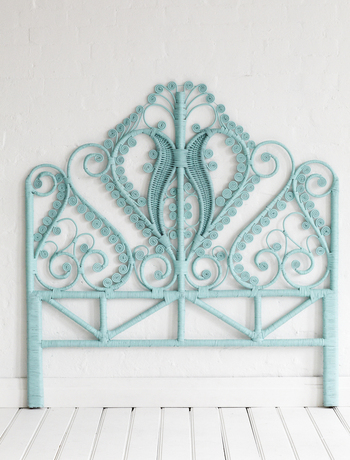 The Peacock headboard via The Family Love Tree