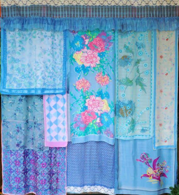 gypsy shower curtain by Babylon Sisters- etsy