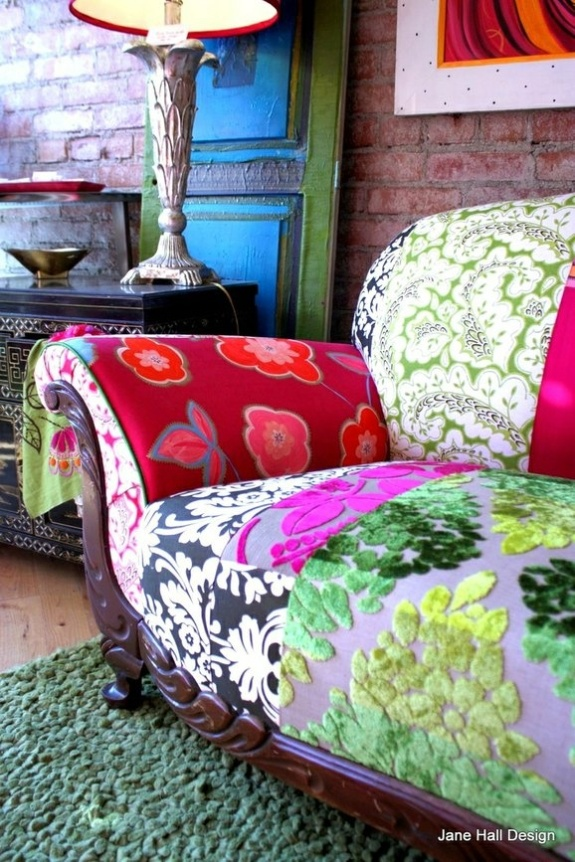 Jane Hall Design custom sofa