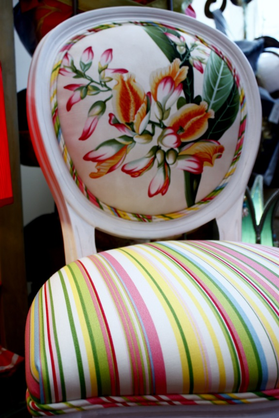 Jane Hall Design custom chair