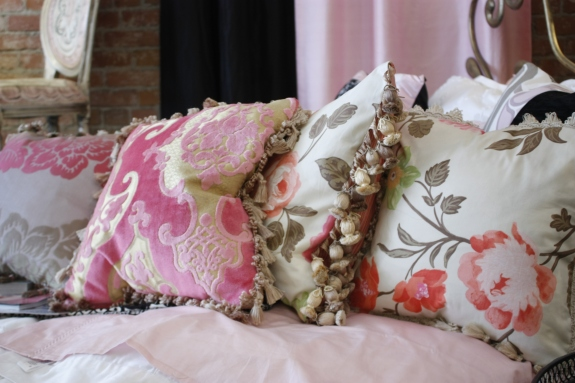 Jane Hall Design custom pillows