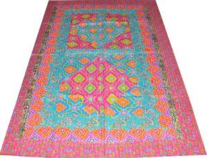 patchwork kantha bedspread