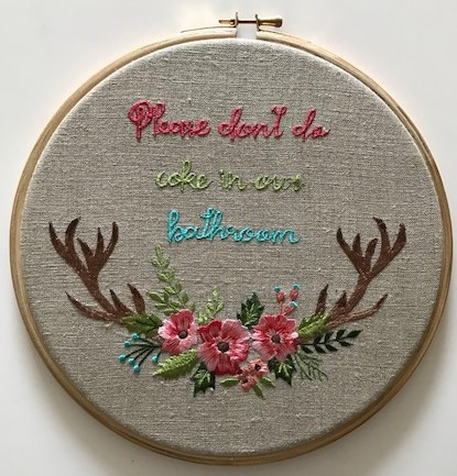 Fabricadabra-cheeky-embroidery-coke-in-bathroom